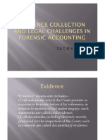 EVIDENCE COLLECTION AND LEGAL CHALLENGES IN FORENSIC ACCOUNTING_PPT