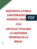 MATEO 28-19 AÚN CON LA REGLA GRANVILLE SHARP HABLA DE UNO SOLO NO DE TRES