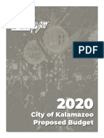 Kalamazoo 2020 Proposed Budget
