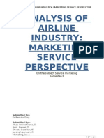 Analysis of Airline Industry