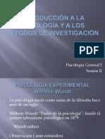 Introducción a la psicología y a los métodos de investigacion.