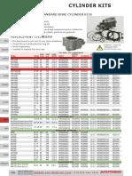 Wiseco Piston Top End Rebuild Kit Gaskets Trail Boss 250 85-99  *STD//72mm*
