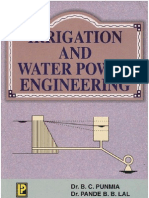 Irrigation and Water Power Engineering by B.C. Punmia- Brij Basi Lal Pande