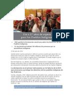 Declaración americana sobre los Derechos de los Pueblos Indígenas