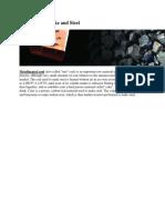 Coal to Make Coke and Steel