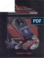 Emailing Design and Simulation of Four Stroke Engines