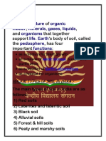 to determine the Soil for agriculture