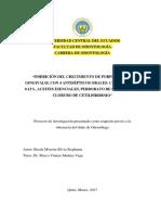 INHIBICION DEL CRECIMIENTO DE PG, CON 4 ANTISEPTICOS ORALES