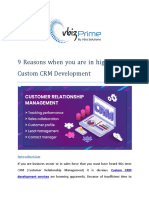 9 Signs That Your Business Needs CRM Development Software