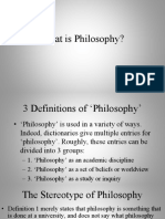 1.1. What is Philosophy