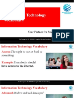 Information Technology Vocabulary for IELTS