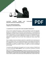 LA POTESTAD DICRECIONAL DE LA ADMINISTRACIÓN PÚBLICA