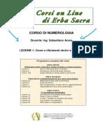 CORSO DI NUMEROLOGIA_UPD