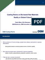 Coatings resins on bio based raw materials DSM.ppt