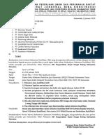 5. Undangan Pembuktian SID Pengendalian Banjir Sungai Bolong