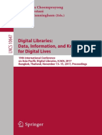 Digital Libraries- Data, Information, And Knowledge