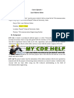 Complete CDR Report Sample for Telecommunication Engineers
