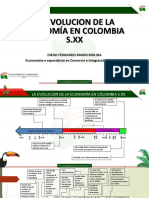 evolucion economica de colombia