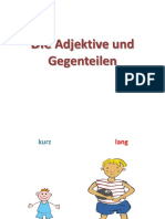 adjektive german worksheet
