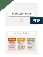 2019 Metode Perancangan - Design Frameworks
