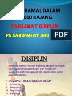 PPT Taklimat Displin