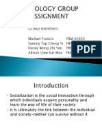 SOCIOLOGY GROUP ASSIGNMENT