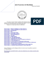 Ctc67 Ue1 Biochimie Alex Armature Sur Les Exos de Biochimie (1)