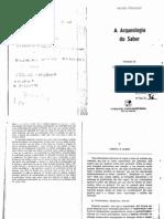 13. Foucalt, M. Ciencia e Saber
