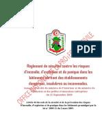 Reglement de Sécurité Contre IEP Des Batiments Abritant Des Établissements Dangereux - (Annexe de l'Arreté Du 21-Septembre-2018)