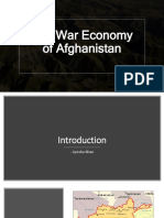 The War Economy of Afghanistan
