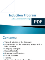 Induction Program
