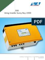 SB2500 Installation Guide