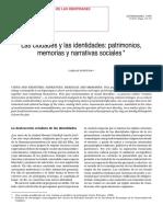 1998_Fortuna - Las ciudades y las identidades. Patrimonios, memorias y narrativas sociales.pdf