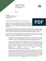 respuesta al comunicado oficil S-2019-098918-deces