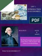 CHAP.1-INTRO TO ECONOMICS