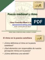 Poesía medieval y ritmo
