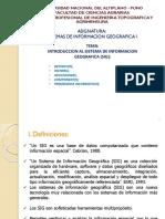 Introducción al Sistema de Información Geográfica