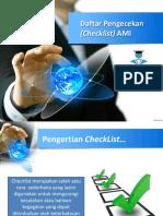 6 Daftar Pengecekan SPMI