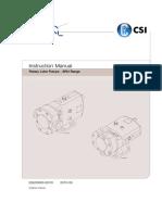 SRU Pump Service Manual