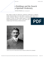 Gandhi's Buildings and the Search for a Spiritual Modernity | post