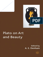 Denham. 2012 . Plato on Art and Beauty.pdf
