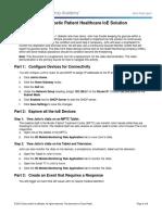 5.1.1.8 Packet Tracer - Diabetic Patient Healthcare IoE Solution