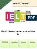 IELTS Introduction