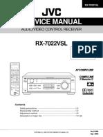 JVC RX-7022VSL
