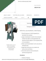 ASTM C78 Concrete Beam Bend Testing - ADMET_2