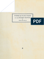 Trevor Field (auth.) - Form and Function in the Diary Novel-Palgrave Macmillan UK (1989)