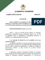 Lege privind autorizarea executării lucrărilor de construcții