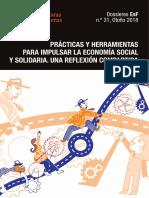 Dossieres EsF 31 (2018) - Prácticas y Herramientas Para Impulsar La Economía Social y Solidaria