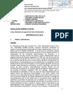 SENTENCIA FUNDADA VINCULO LABORAL TRABAJADOR DEL PODER JUDICIAL
