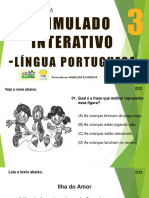 2º SIMULADO INTERATIVO LÍNG PORT - 3º ANO CAMOCIM - Copia